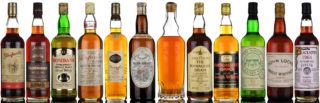 July Whisky auction Highlights