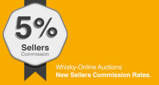 Whisky Auction - 5% Sellers Commission