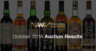 October Whisky Auction Results
