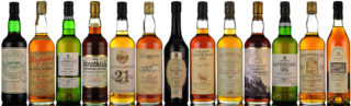 April Whisky Auction Banner