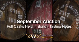 Casks Held In Bond – Up For Auction