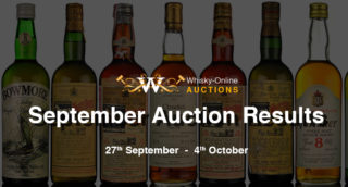 September whisky auction results