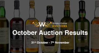 whisky online auctions results